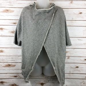 Vans Slouch Deconstructed Sweatshirt Grey Size M